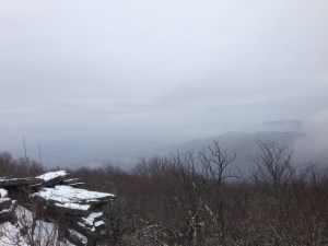 run peak view snow fog winter mountain trip pembroke virginia snow winter stephanie hughes stolen colon crohn's disease ulcerative colitis inflammatory bowel disease ibd ostomy blog