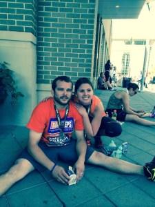 race half-marathon rock'n'roll running jarrod hughes stephanie hughes stolen colon crohn's disease ulcerative colitis inflammatory bowel disease ibd blog