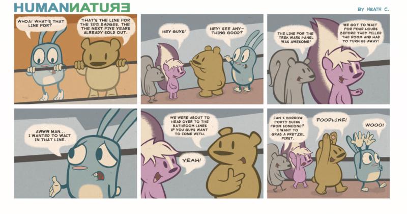 Comic by Heath Cecere