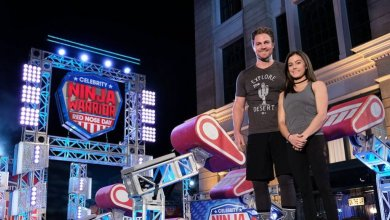 Photo of Stephen Amell on American Ninja Warrior