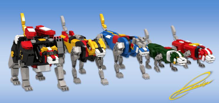LEGO Voltron 1