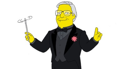 Photo of THE SIMPSONS Fired Composer Alf Clausen
