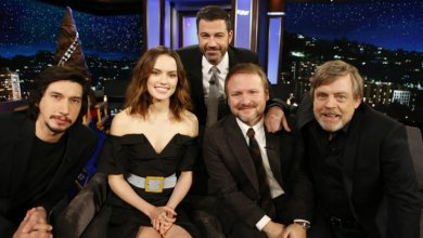 Photo of The Last Jedi Cast Joined Jimmy Kimmel