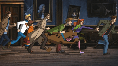 Photo of First Images from Supernatural/Scooby-Doo Crossover