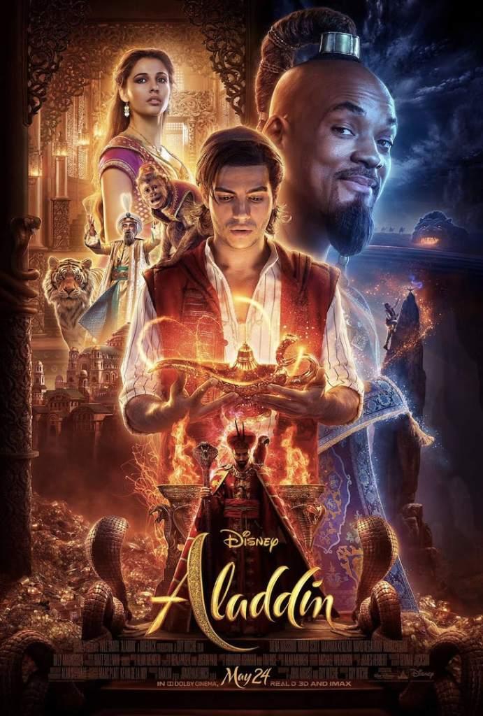 Disney's Aladdin Movie Poster
