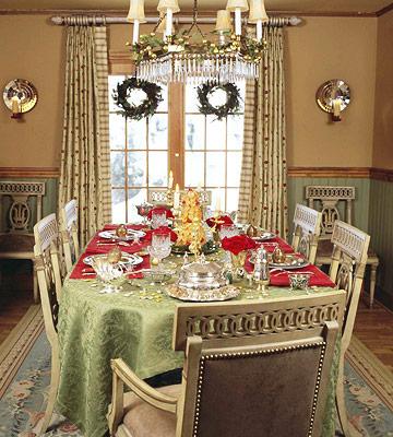 Ideas For Christmas Table Decoration Stolen Elegance