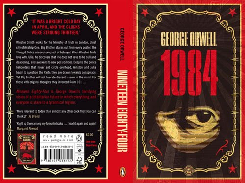 1984 Book Cover Redesign Robin Malau