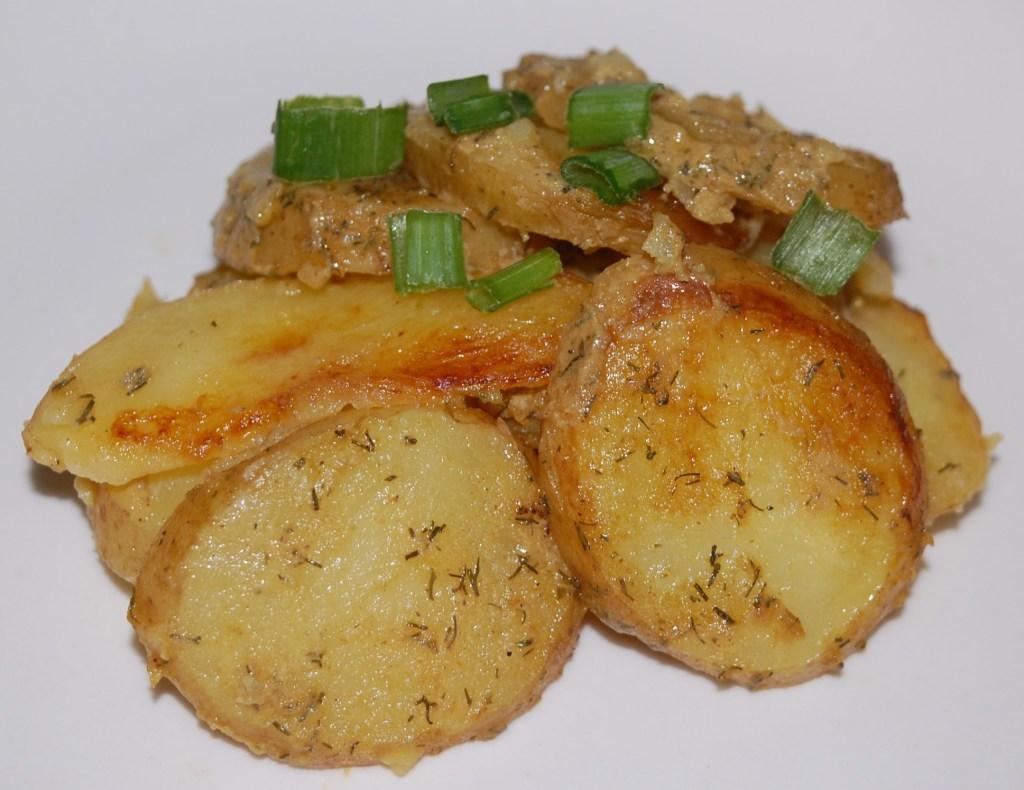 diversificato nella confezione dettagli per marchio famoso Grilled Potato Salad