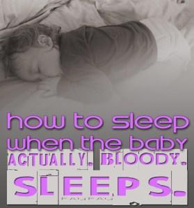 sleepwhenbabysleeps