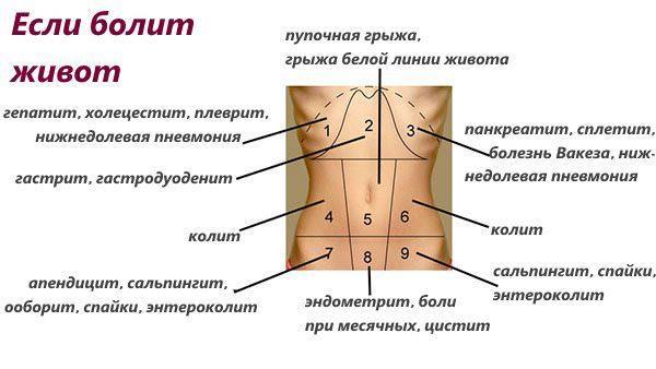 smerter nedre del av magen menn og føler