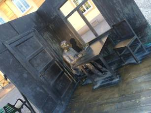 Statuen i Vimmerby.