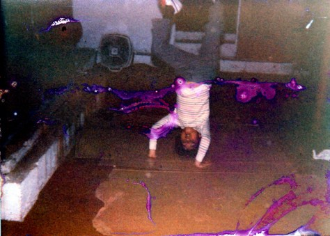 Breakdancing on Cardboard in the Basement - 1984
