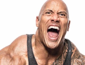 Dwayne Johnson Prepares to Go On Rampage