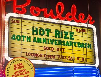 Hot Rize – 40th Anniversary Bash