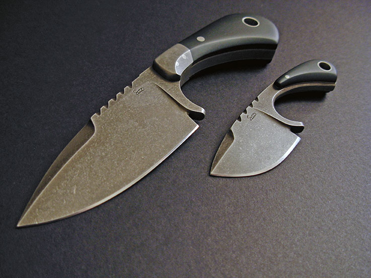 Fixed Blade Knife Wood Handles
