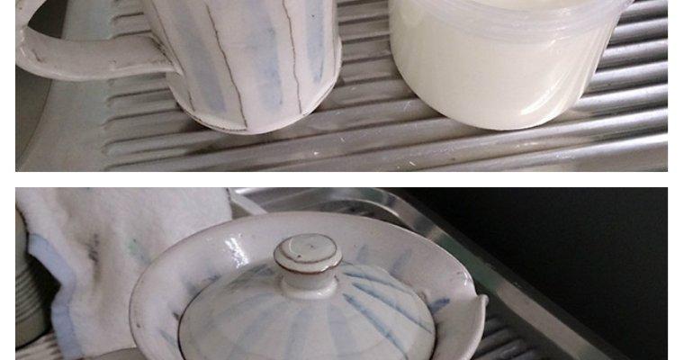 飲むヨーグルトを作ろう-手作りピッチャー