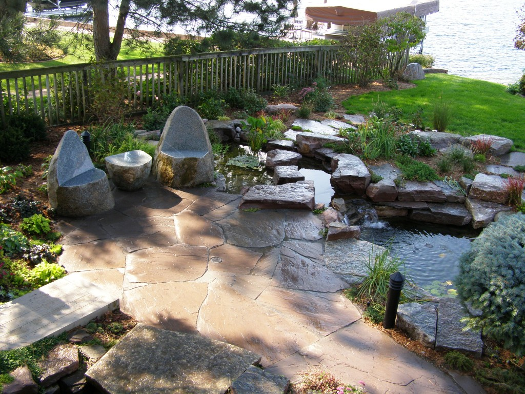 Natural Stone Patios and Walkways in the Utica NY Area on Rock Patio Designs  id=76667