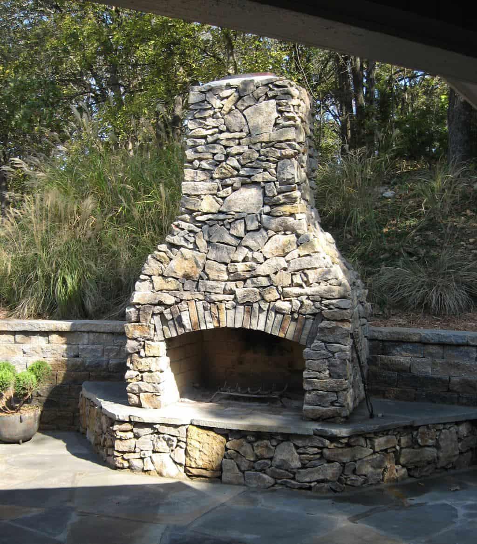 stone age fireplaces stone age