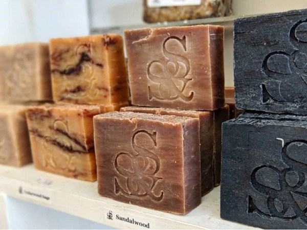Stone and Shadow Soap