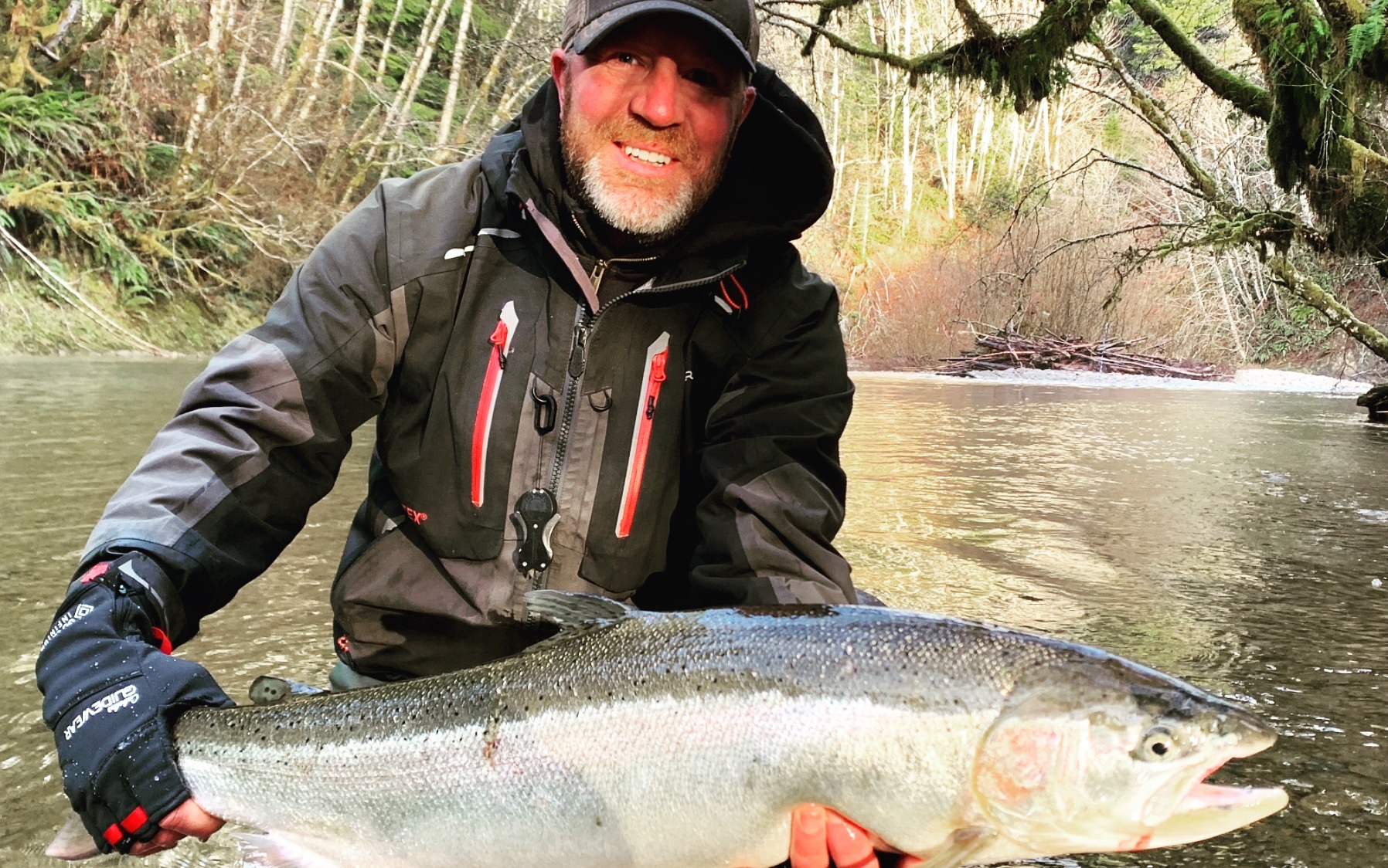 Bead Fishing for Winter Steelhead on Christmas Day
