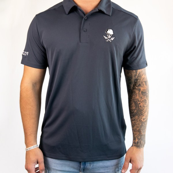 Men's Navy Collared Shirt