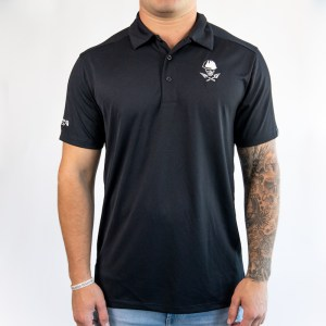 Men's Black Collared Shirt
