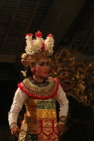 Balinese mask (by mask maker Ida Bagus Anom)