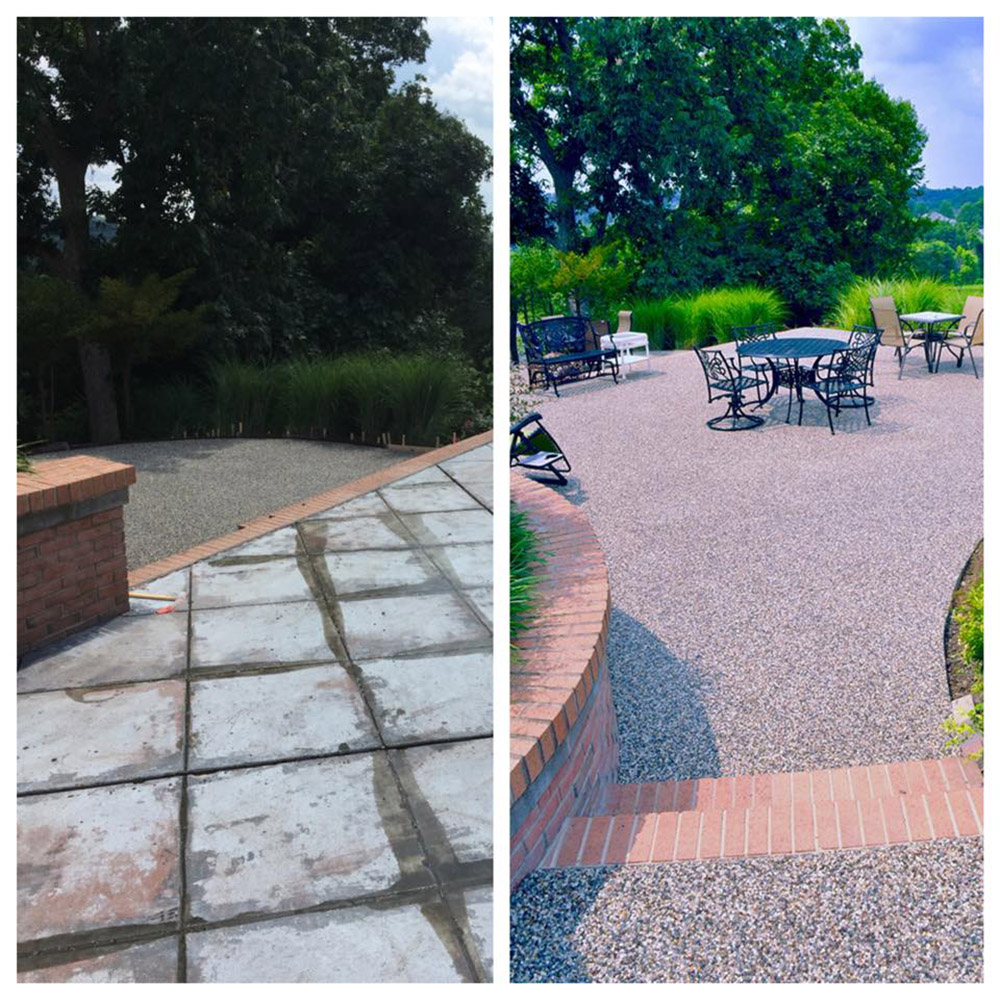 pebble stone epoxy system stonecraft