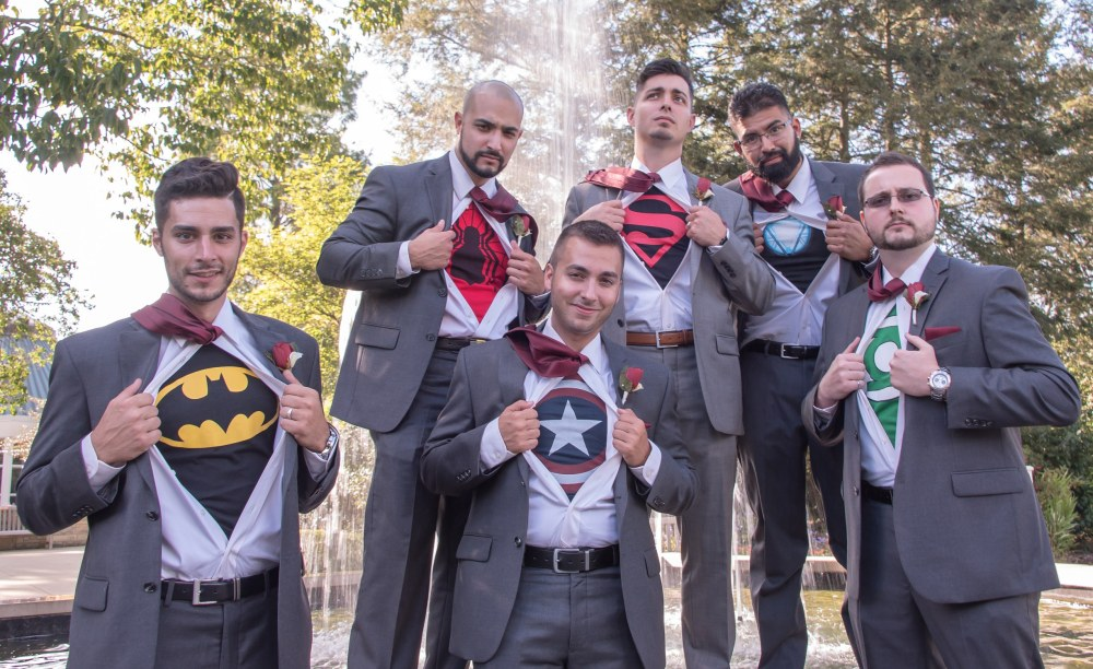Funny Groomsmen Superhero Ohio
