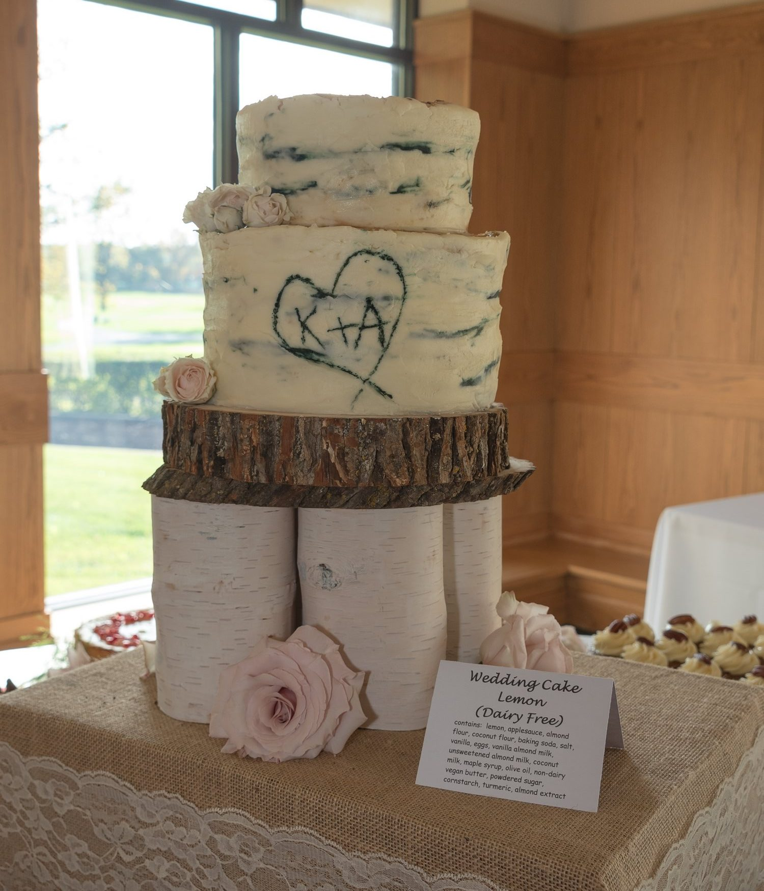 Dairy-Free Wedding Cake