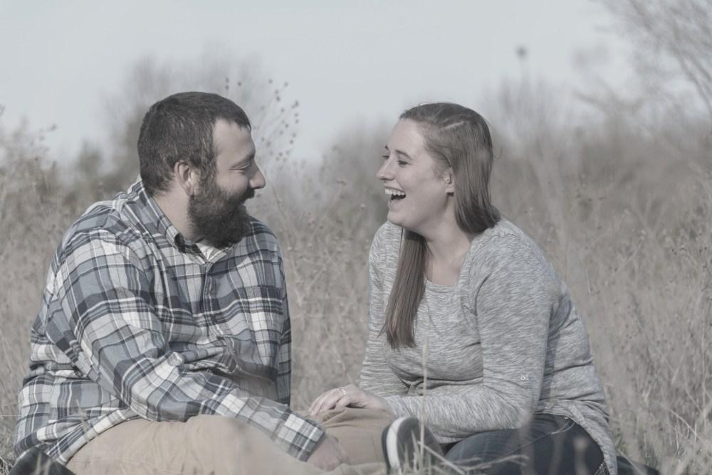 Brittany & Kyle's Island Lake Engagement
