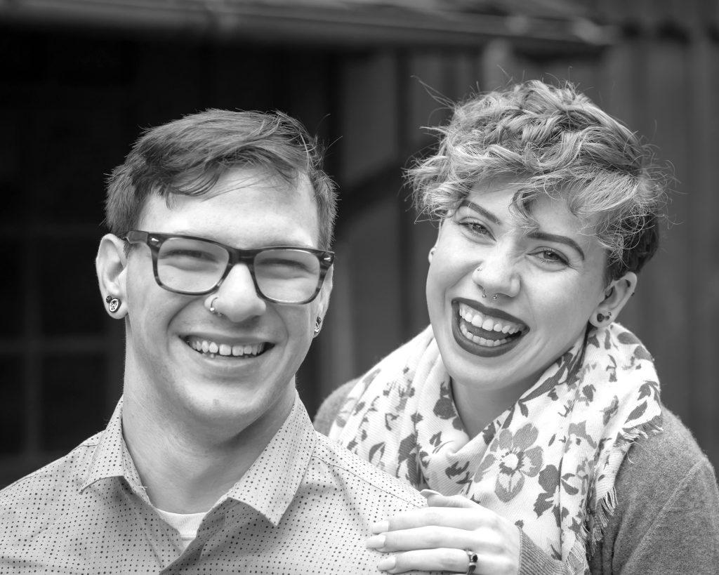 McKenna Xavier Ledges Overlook Hudson Engagement Photos