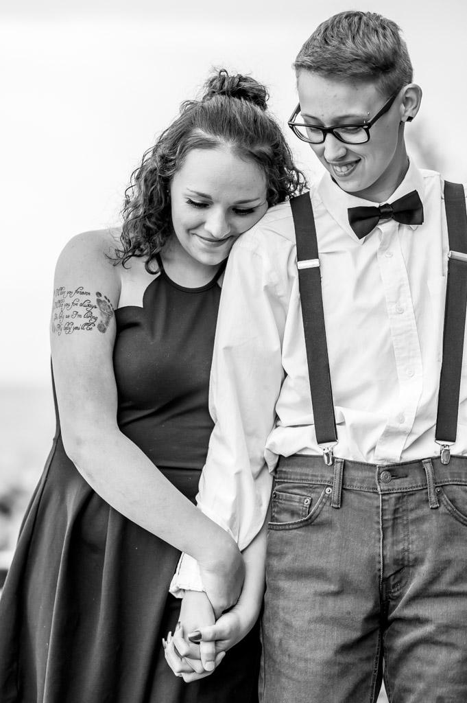 Angel Brooke Ashtabula Ohio Engagement Photos