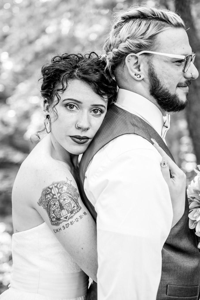 McKenna + Xavier Wedding Couple Portrait