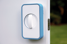 The LOCKITRON is a lock that lets you unlock your door with a phone. With this worrying that you haven't locked your door is a thing from the past. It also notifies you if your door has been opened. So even if you're on the other side of the world you'll know your door is safely locked.