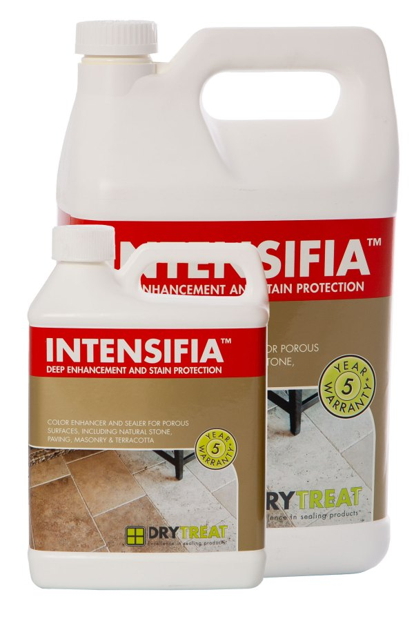 Image of Dry Treat Intensifia premium stone colour enhancer and sealer