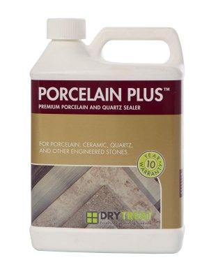 Image of Dry Treat Porcelain Plus sealer for porcelain, quartz countertops