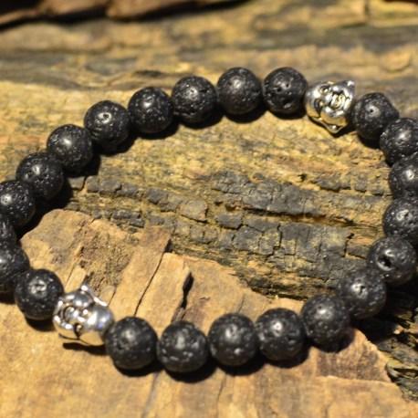 Stone Era lava stone natural healing bracelet, ottawa manon tremblay