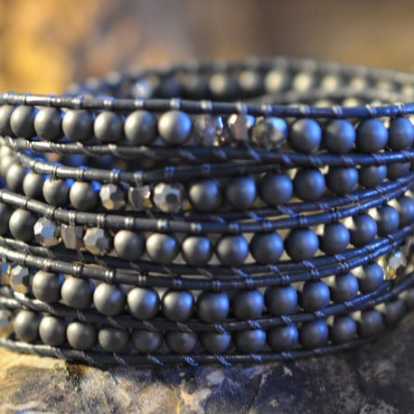 stone-era-handmade-natural-stone-bracelet-hematite-wrap-leather-manon-tremblay-ottawa