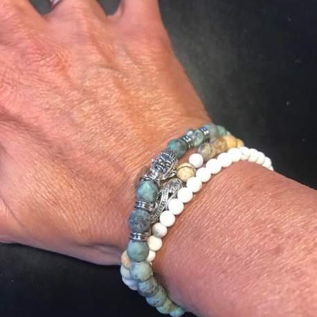 jasper african turquoise and white turquoise stone era vegan wrap ottawa