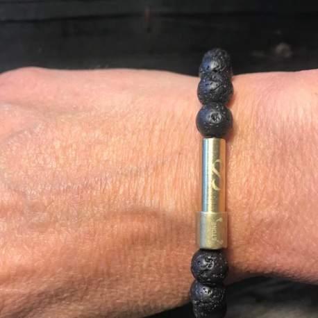 Stone era infinity bracelet -LAVA 4 ottawa manon tremblay message in a bracelet