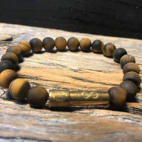 Stone era infinity bracelet -TIGER ottawa manon tremblay message in a bracelet