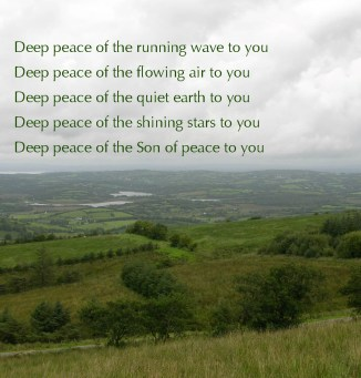 Deep Peace Blessing