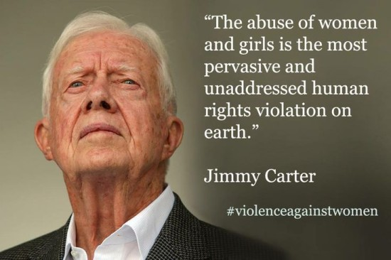 president carter on women