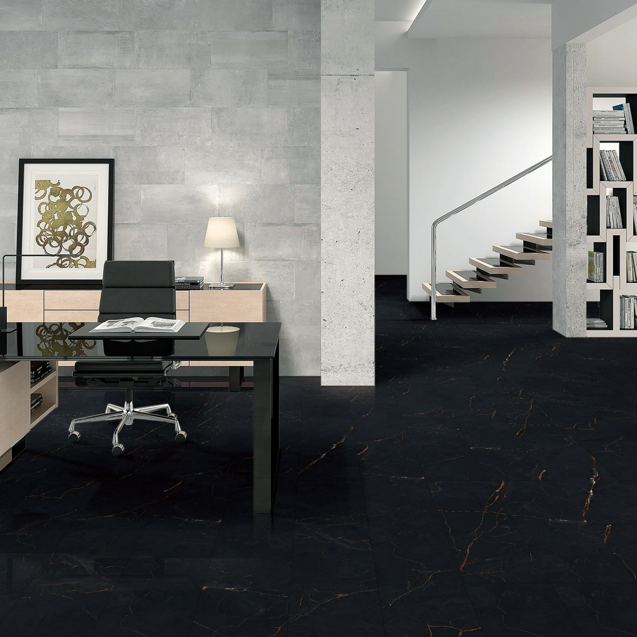 Marble Design - Nero Black