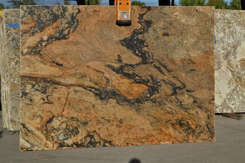 Granite Counter Top -COMET LEATHER 3CM LOT 3L632830 109X78-me