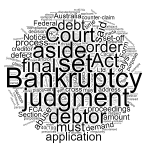 Set aside a bankruptcy notice in Queensland