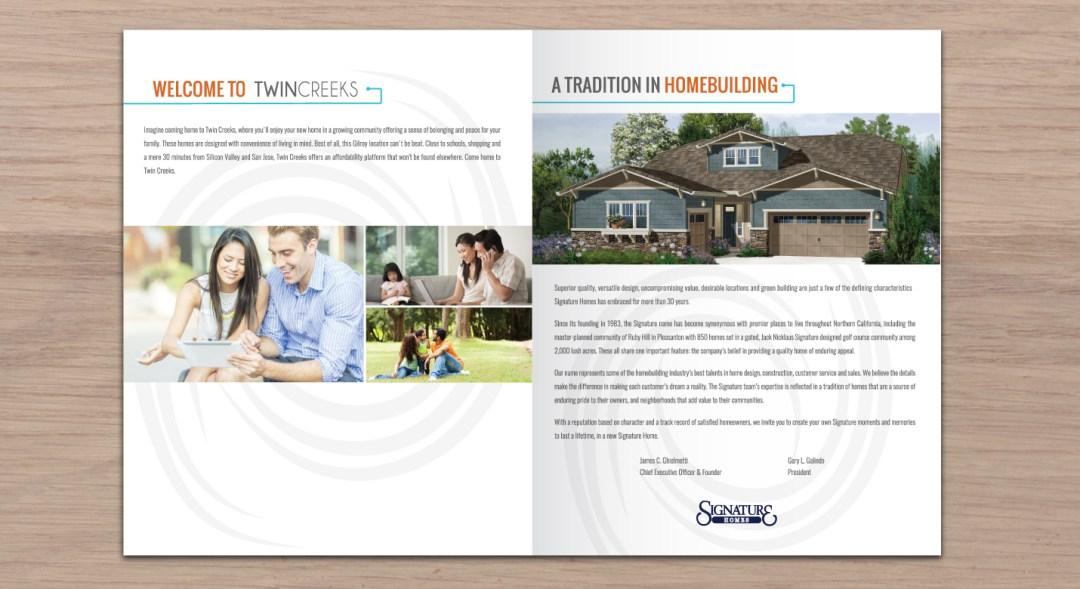 Design of Real Estate Brochure