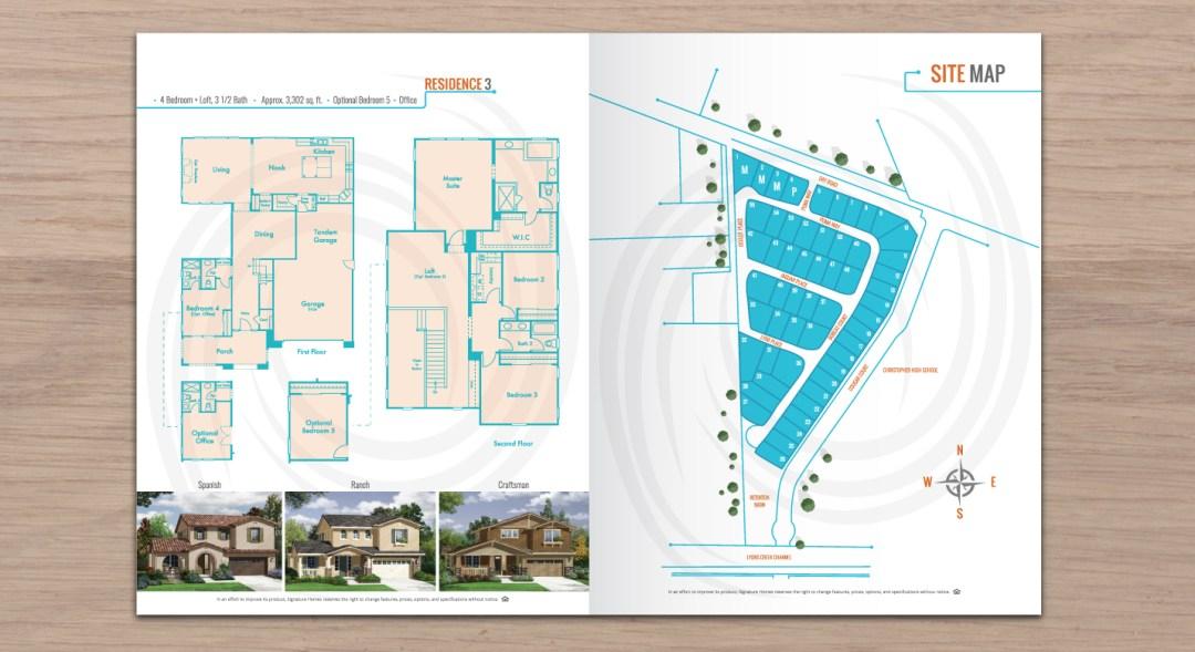 Brochure For Real Estate Homes For Sale