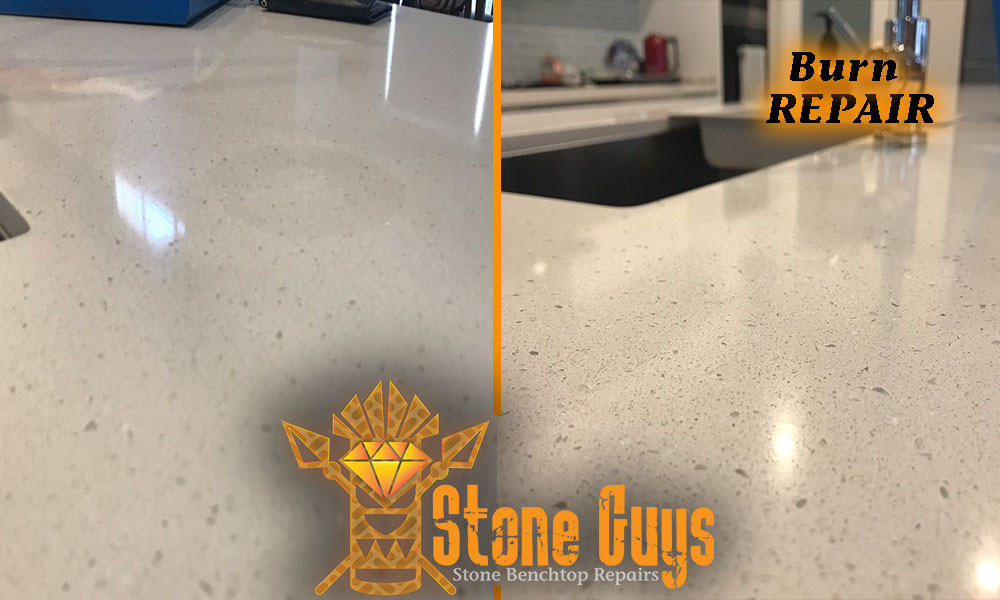 Repair Stone Benchtop Chip Crack Burns Damage Qld Nsw Vic